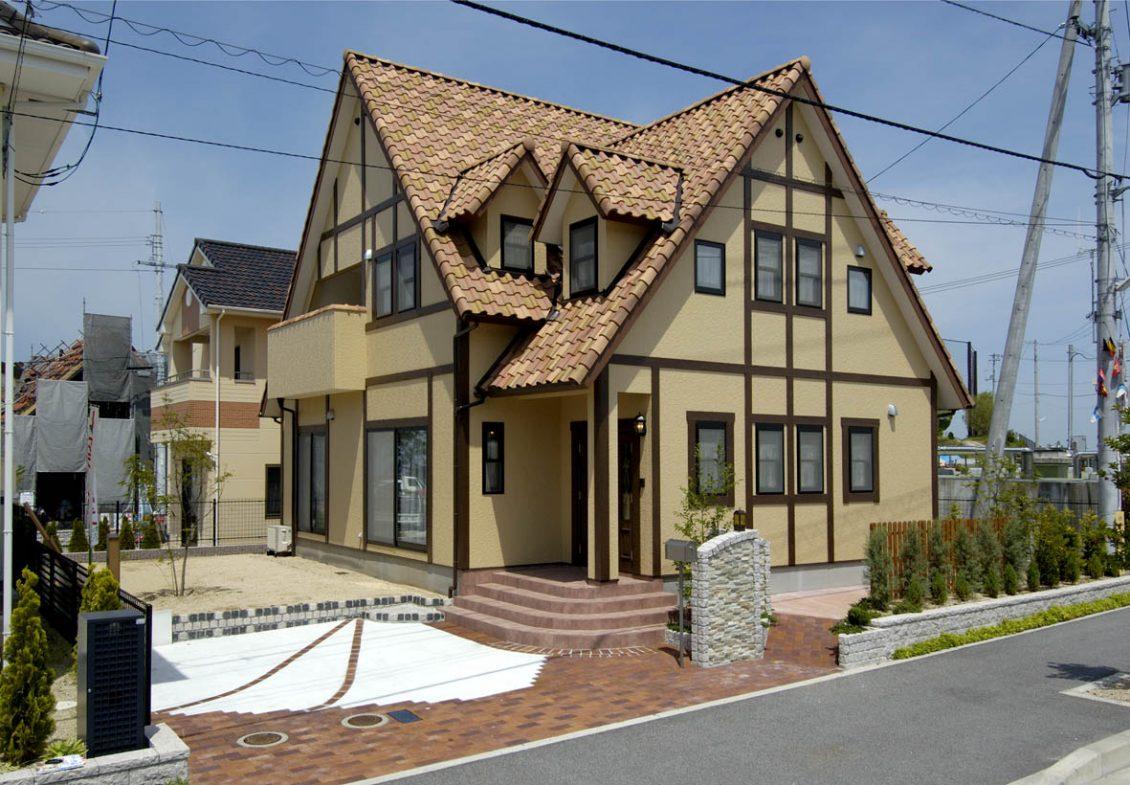 チューダー調の家イメージ1