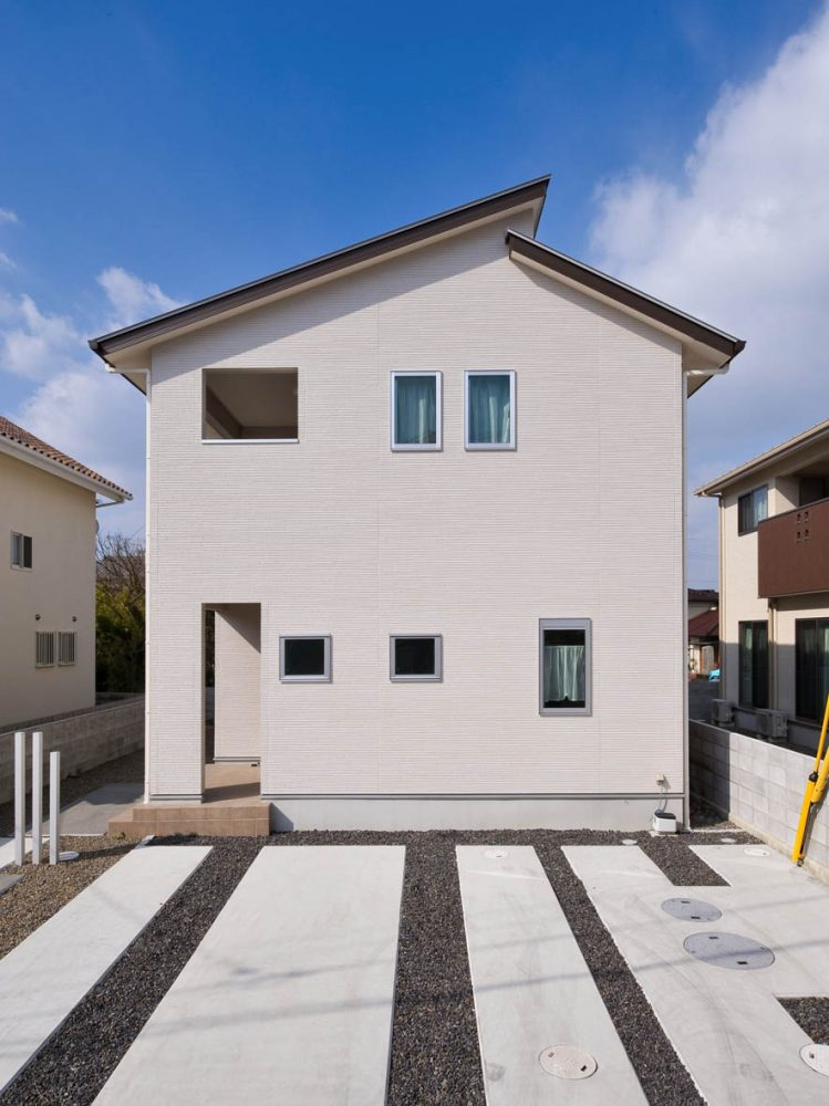 太陽光発電と多収納な家イメージ1