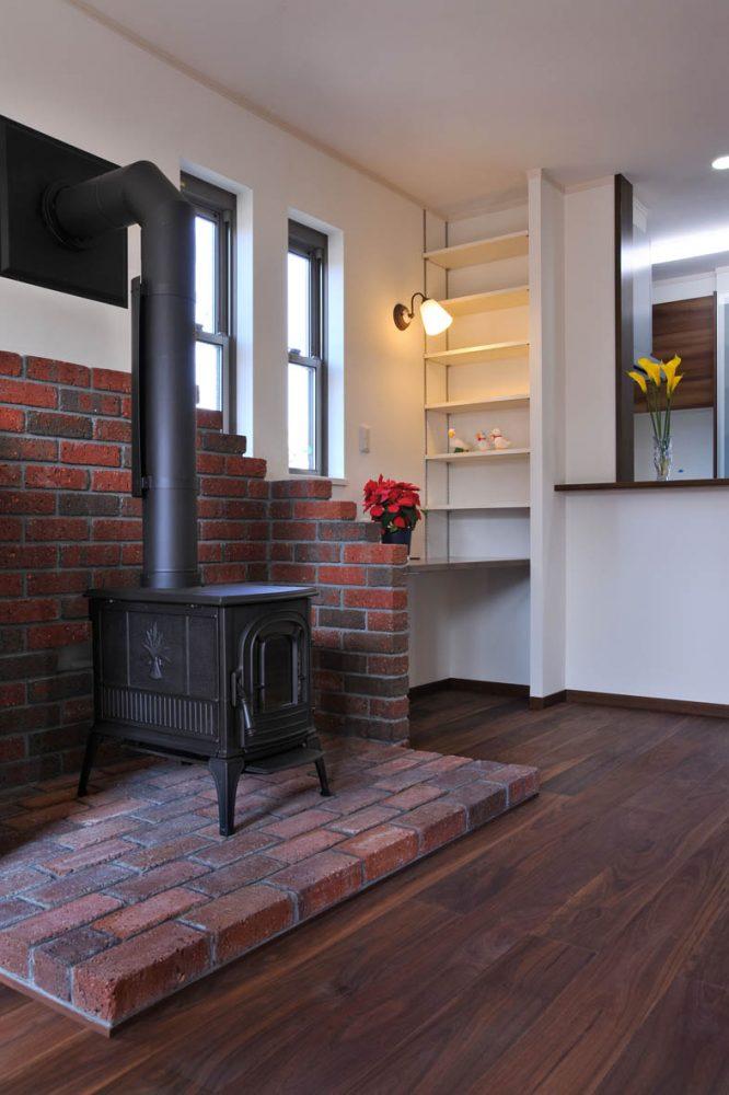 暖炉のある家イメージ2