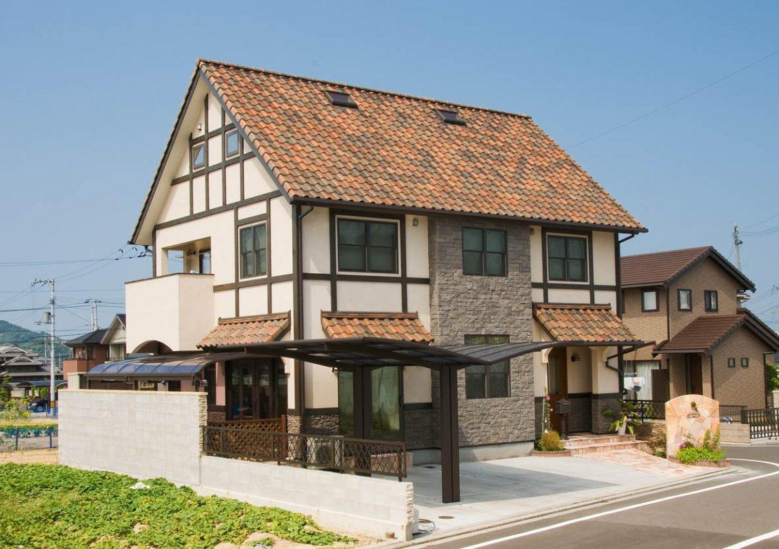 ヨーロピアンへのあこがれを形にした家イメージ2