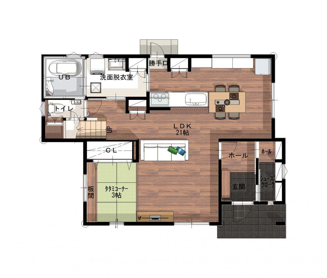 和×収納上手な家イメージ8