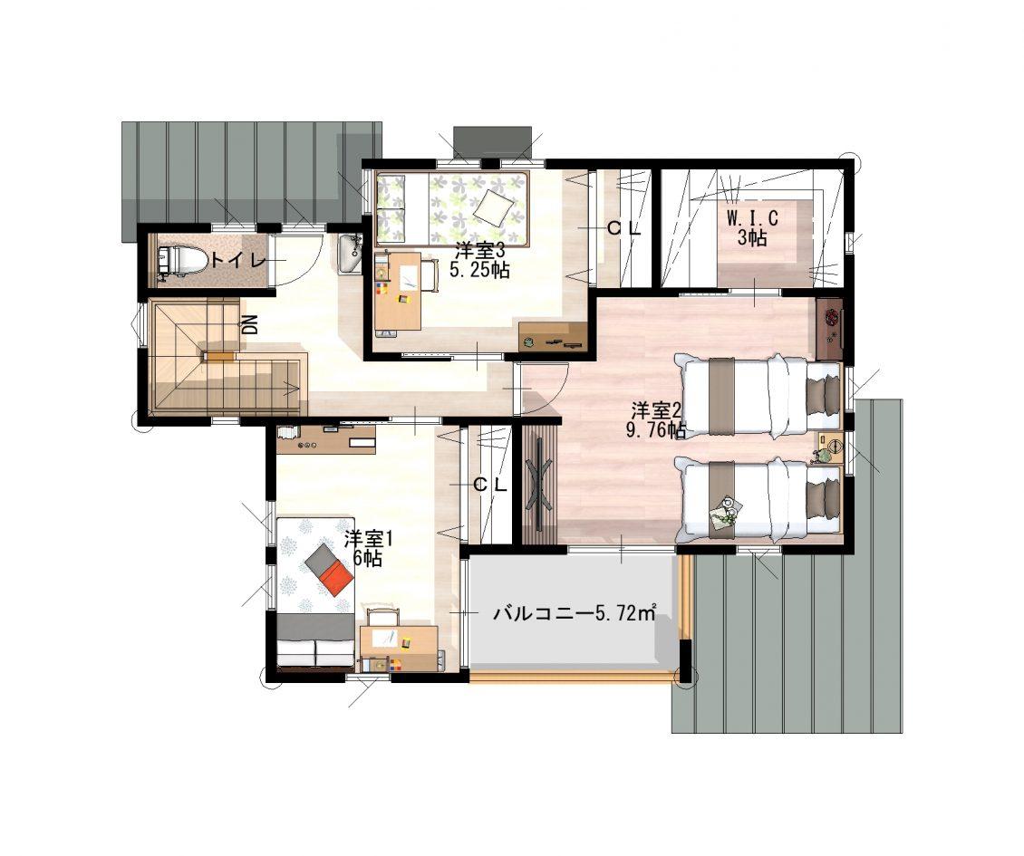 和×収納上手な家イメージ9