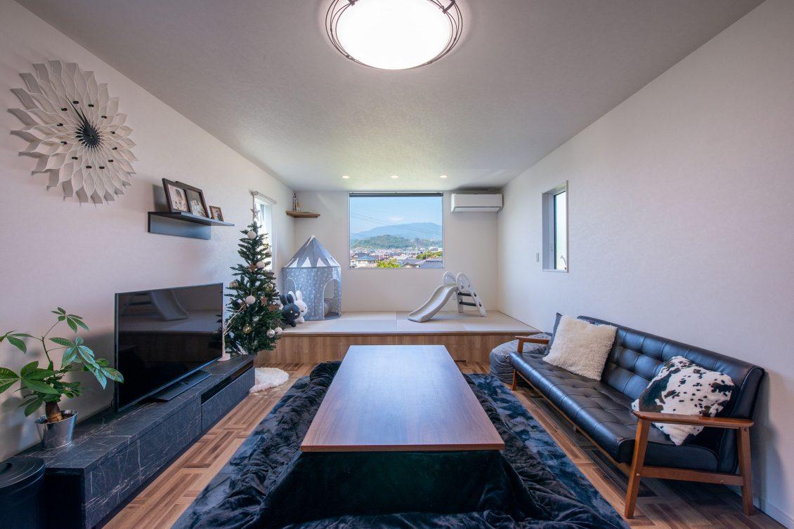 景色をインテリアとして楽しむ家イメージ3