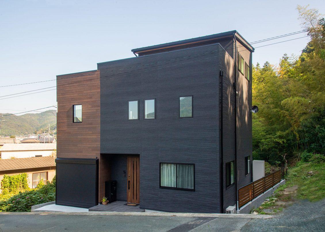 景色をインテリアとして楽しむ家イメージ1